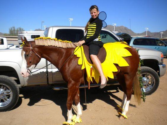 Disfraz de Flor para caballos